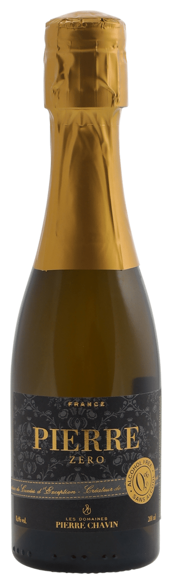 Pierre Zero Sparkling white piccolo – (0% alcohol)